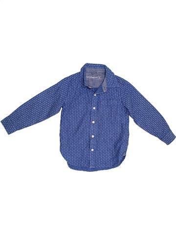 Camisa de manga larga niño GAP azul 5 años invierno #1302513_1