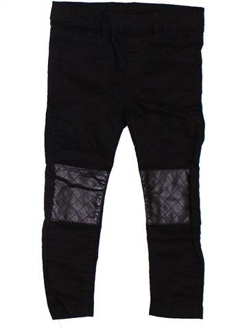 Pantalon fille H&M noir 3 ans été #1302557_1