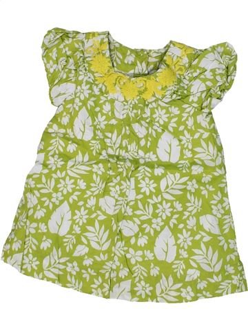Vestido niña DEBENHAMS verde 6 meses verano #1302618_1