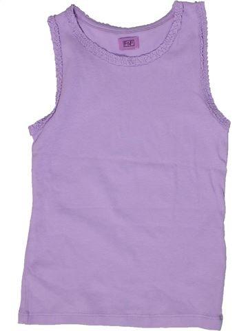 Camiseta sin mangas niña F&F violeta 7 años verano #1302635_1
