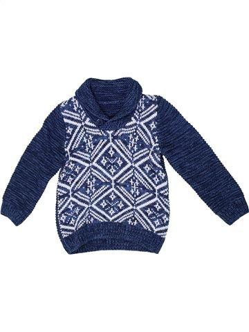 Pull garçon MATALAN bleu 4 ans hiver #1302638_1