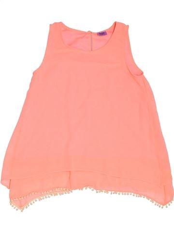 Blusa de manga corta niña F&F beige 9 años verano #1302713_1