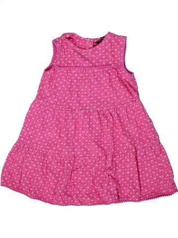 Vestido niña GEORGE rosa 2 años verano #1302744_1