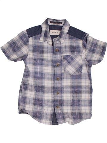 Camisa de manga corta niño RIVER ISLAND gris 4 años verano #1302749_1