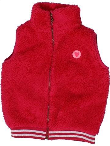 Chaleco niña HEMA rojo 4 años invierno #1302783_1