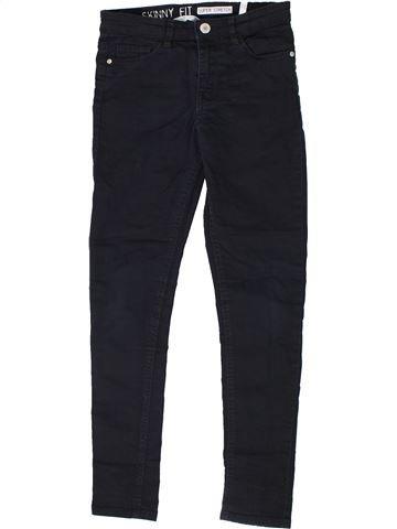 Jean fille H&M noir 10 ans hiver #1302849_1
