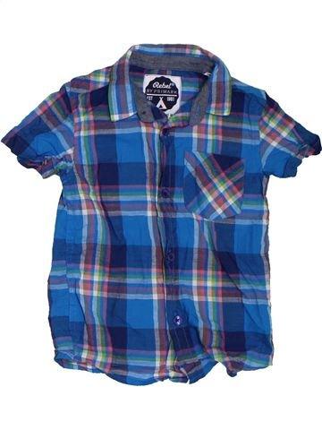 Camisa de manga corta niño PRIMARK azul 4 años verano #1302917_1
