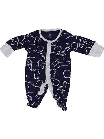 Pyjama 1 pièce garçon NEXT blanc prématuré été #1302956_1