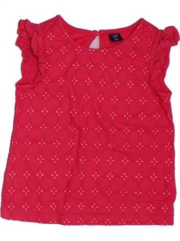Camiseta de manga corta niña GAP rojo 2 años verano #1302973_1