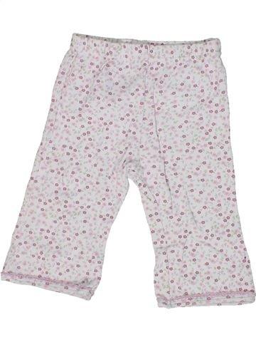 Pantalón niña MARKS & SPENCER blanco 6 meses verano #1302998_1