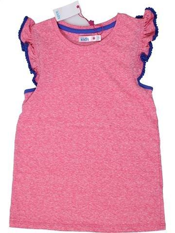 T-shirt sans manches fille M&CO rose 10 ans été #1303172_1