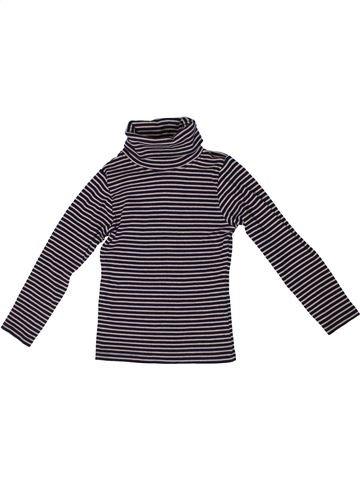 T-shirt col roulé fille I LOVE GIRLSWEAR gris 5 ans hiver #1303259_1