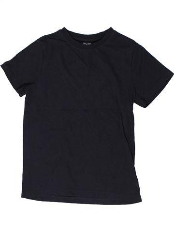 Camiseta de manga corta niño F&F negro 9 años verano #1303578_1