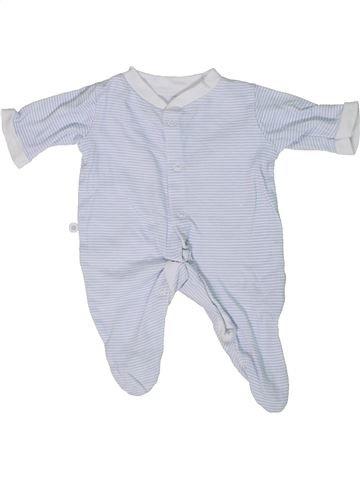 Pyjama 1 pièce garçon GEORGE blanc prématuré été #1303787_1