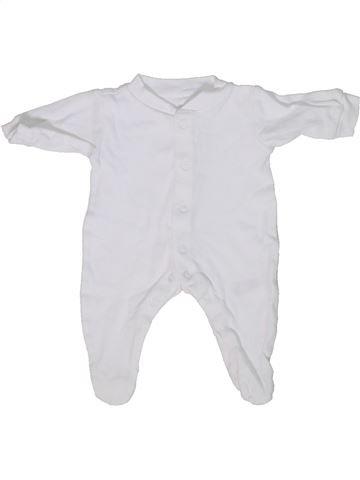 Pyjama 1 pièce unisexe GEORGE gris prématuré été #1303790_1