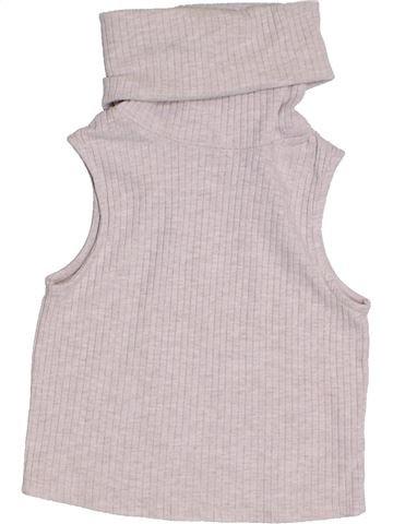 Camiseta de cuello alto niña RIVER ISLAND rosa 10 años invierno #1303971_1