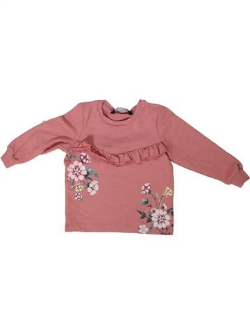 Sweat fille GEORGE rose 18 mois hiver #1304013_1