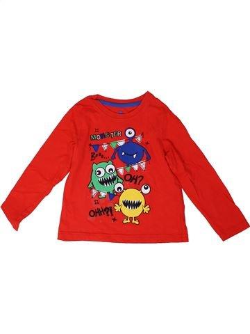 Camiseta de manga larga niño LUPILU rojo 4 años invierno #1304085_1