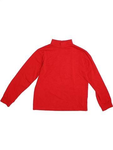 T-shirt manches longues garçon BOUNY BABY rouge 10 ans hiver #1304113_1