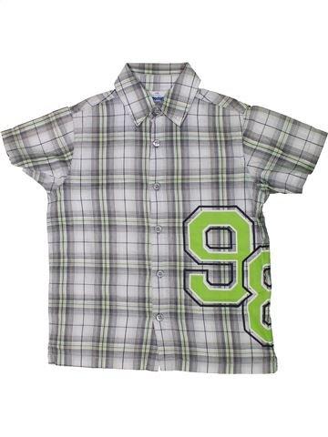 Chemise manches courtes garçon DOPODOPO gris 6 ans été #1304144_1