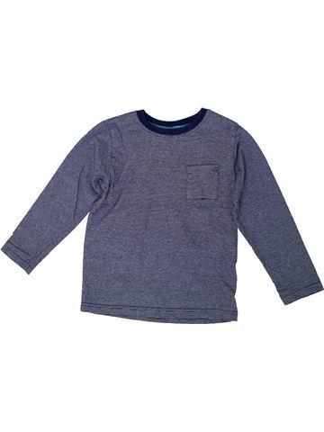 T-shirt manches longues garçon MARKS & SPENCER bleu 5 ans hiver #1304559_1