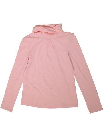 T-shirt col roulé fille C&A rose 10 ans hiver #1304726_1