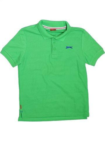Polo de manga corta niño SLAZENGER verde 12 años verano #1304777_1
