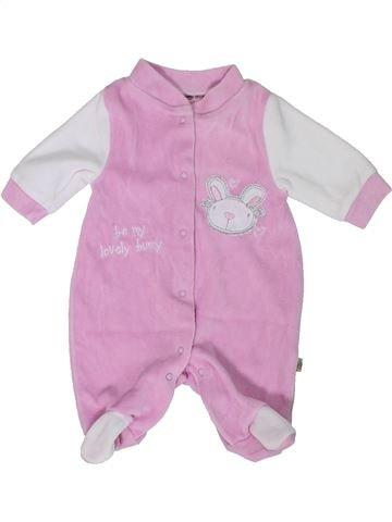 Pyjama 1 pièce fille SCRUFFY BEAR rose naissance hiver #1304871_1