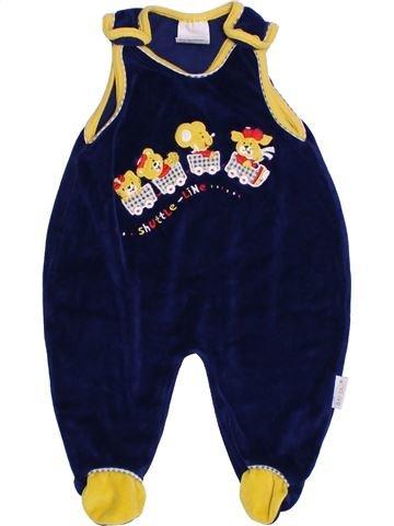 Pyjama 1 pièce garçon BABYSANA jaune 3 mois hiver #1304892_1