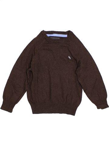 jersey niño H&M marrón 4 años invierno #1304899_1