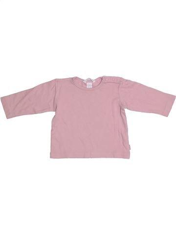 Camiseta de manga larga niña H&M rosa 9 meses invierno #1304923_1