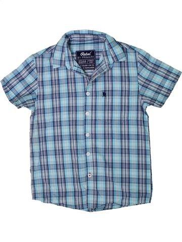 Chemise manches courtes garçon PRIMARK bleu 8 ans été #1304963_1