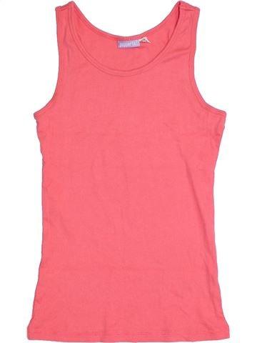 T-shirt sans manches fille PEPPERTS rose 14 ans été #1305026_1