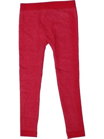 Legging fille COOL YOUNG rouge 4 ans hiver #1305061_1