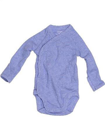 Camiseta de manga larga niño CARTER'S azul 0 meses invierno #1305108_1