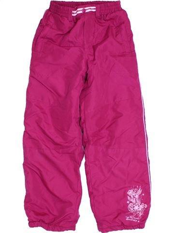 Esquí niña OKAY rosa 8 años invierno #1305258_1