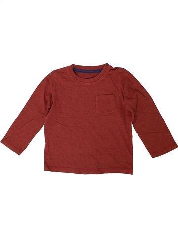 Camiseta de manga larga niño MATALAN marrón 3 años invierno #1305284_1