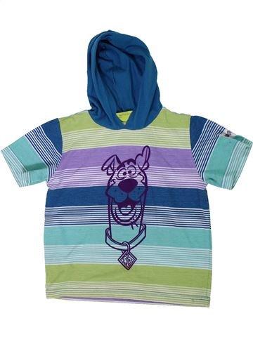 T-shirt manches courtes garçon SCOOBY DOO bleu 5 ans été #1305298_1