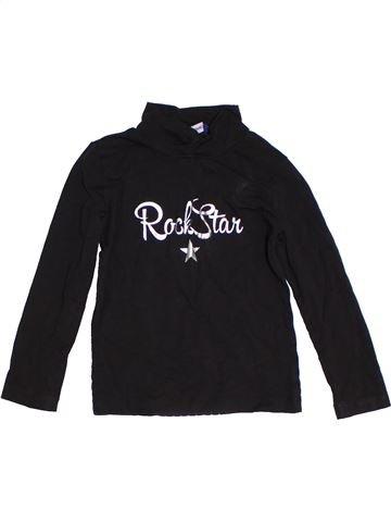 T-shirt col roulé fille ORIGINAL MARINES noir 4 ans hiver #1305317_1