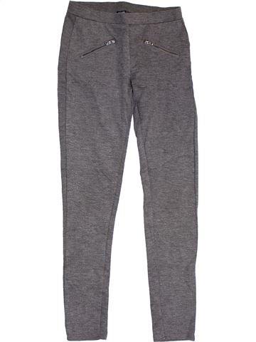 Pantalon fille KIABI gris 12 ans hiver #1305341_1