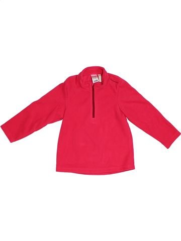 jersey niña DÉCATHLON rojo 4 años invierno #1305350_1