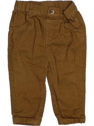 Pantalon garçon TU marron 9 mois été #1305510_1