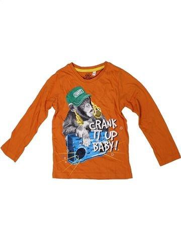 T-shirt manches longues garçon C&A orange 4 ans hiver #1305515_1