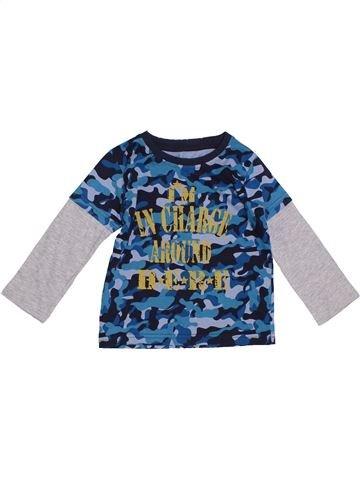 Camiseta de manga larga niño SANS MARQUE azul 2 años invierno #1305545_1