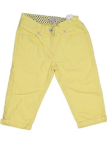 Pantalón corto niña PRIMARK beige 9 años verano #1305586_1