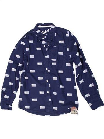 Chemise manches longues garçon PRIMARK bleu 11 ans hiver #1305612_1
