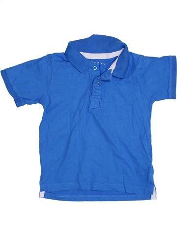 Polo manches courtes garçon NUTMEG bleu 4 ans été #1305661_1