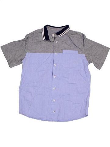 Chemise manches courtes garçon RIVER ISLAND gris 11 ans été #1305749_1