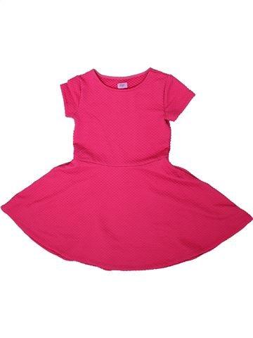 Robe fille F&F rose 7 ans été #1305818_1