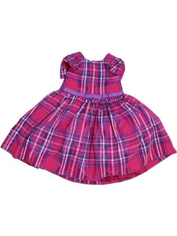 Robe fille BABYK rose 12 mois été #1305821_1